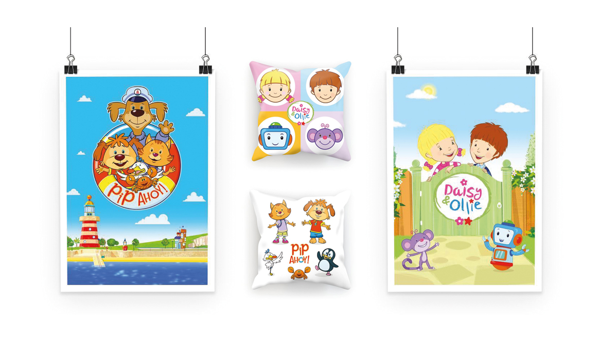 CHF teams up with KITE to launch online shops for Pip Ahoy! And Daisy & Ollie